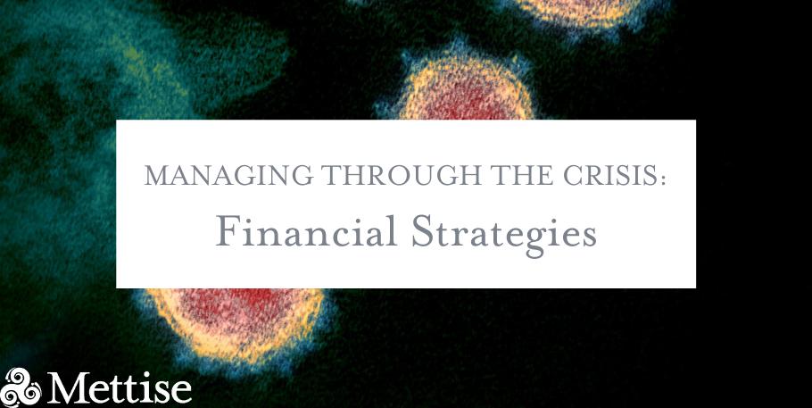 Managing Through the Crisis: Financial Strategies